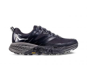 Hoka One One Speedgoat 3 WP trail hardloopschoenen zwart/grijs dames
