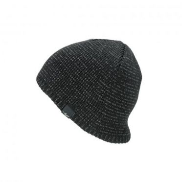 Sealskinz Waterproof cold weather reflecterende beanie zwart