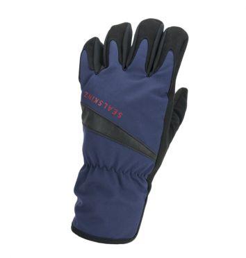 SealSkinz All weather fietshandschoenen blauw/zwart