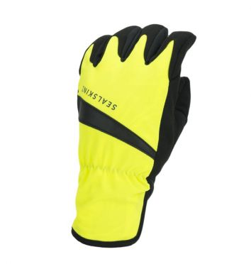 SealSkinz All weather fietshandschoenen neon geel/zwart
