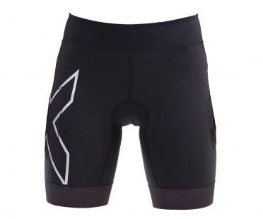 2XU Compression tri shorts zwart dames