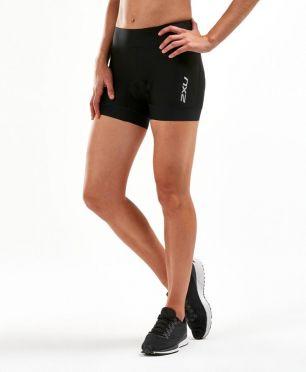 "2XU Perform 4.5"" tri shorts zwart dames"