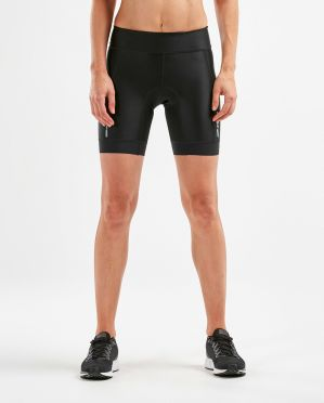 "2XU Perform 7"" tri shorts zwart dames"