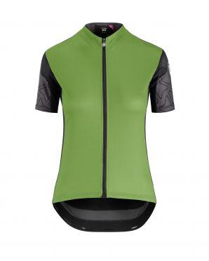 Assos XC korte mouw fietsshirt groen dames