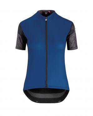 Assos XC korte mouw fietsshirt blauw dames