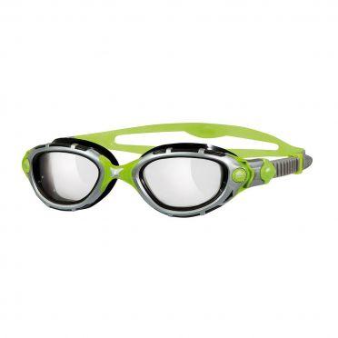 Zoggs Predator Flex Reactor Titanium zwembril grijs/groen
