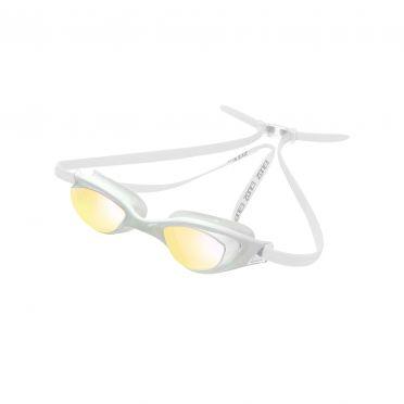 Zone3 Aspect zwembril spiegellens transparant wit