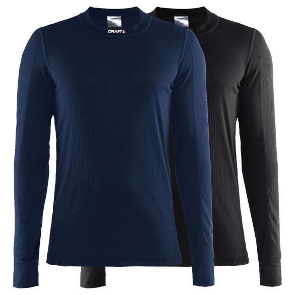 Craft Active Multi 2-pack top blauw/zwart heren  1902365-999396