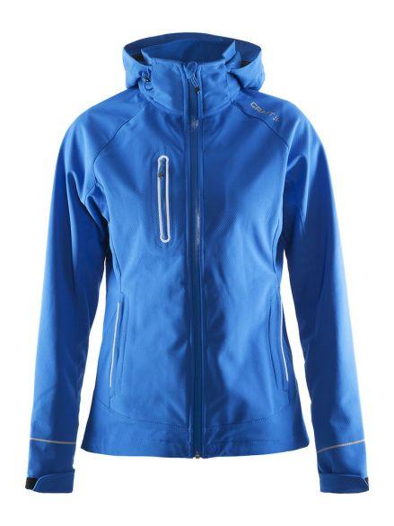 Winterjas Blauw Dames.Craft Cortina Soft Shell Winterjas Blauw Dames Kopen Bestel Bij