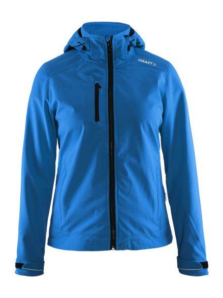 Winterjas Donkerblauw Dames.Craft Light Softshell Winterjas Blauw Dames Kopen Bestel Bij