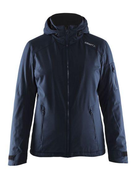 Winterjas Donkerblauw Dames.Craft Isola Winterjas Blauw Navy Dames Kopen Bestel Bij Triathlon24 Be