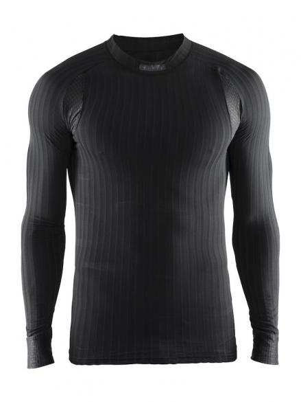 Craft Active extreme 2.0 CN lange mouw ondershirt zwart heren  1904495-9999