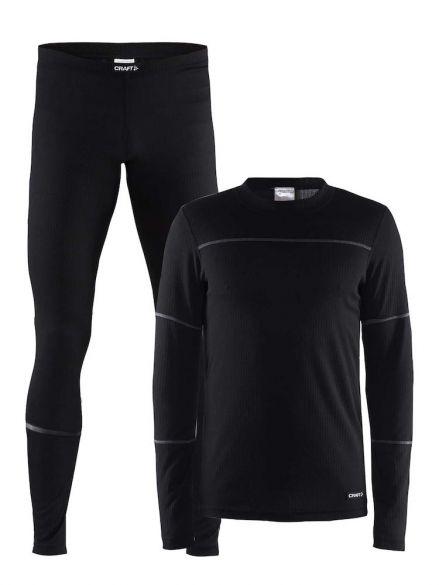 Craft Active onderkleding voordeel set zwart heren  1905332-999985