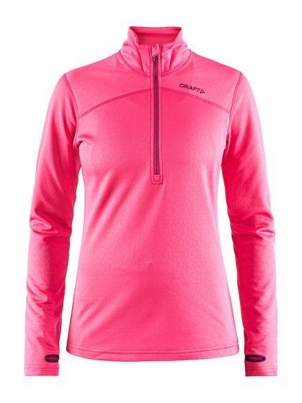 Craft Pin halfzip Skipully roze dames  1905361-720785-vrr