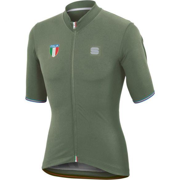 Sportful Italia CL jersey fietsshirt groen heren  1101881-382