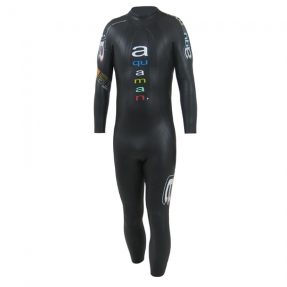 Aquaman Womens Wetsuit The Art met flash systeem  AQUAWTHEART