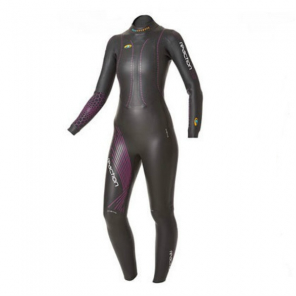 Blueseventy Reaction fullsleeve wetsuit vrouwen 2015  WSRFS12BLK00WM