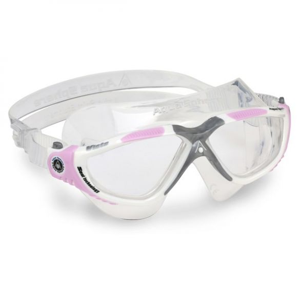 Aqua Sphere Vista Lady transparante lens zwembril  ASMS1750902LC