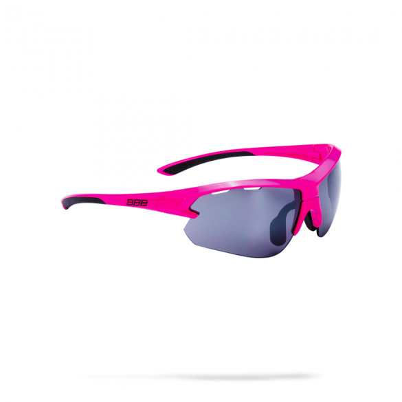 BBB Sportbril Impulse small glossy roze  2973255265-BSG-52S