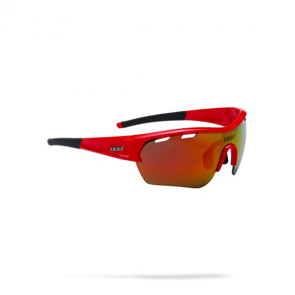 BBB Sportbril Select XL MLC glossy rood  2973255503-BSG-55XL
