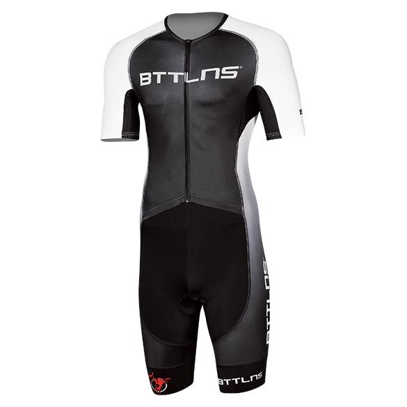 BTTLNS Typhon 2.0 trisuit korte mouwen zwart/wit heren  0219008-121
