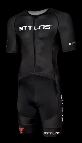 BTTLNS Typhon 2.0 trisuit korte mouwen zwart heren  0219008-010