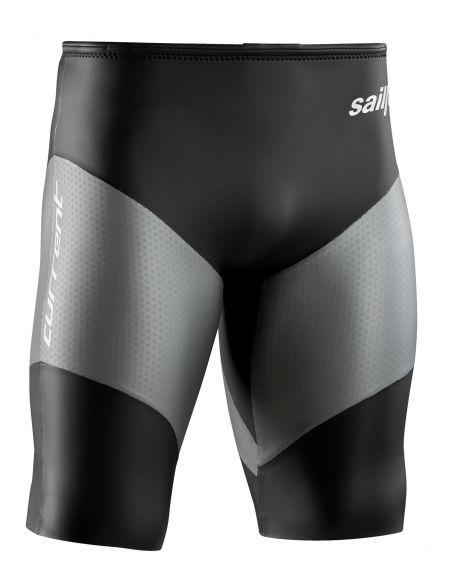 Sailfish Neopreen short current max. zwart/grijs  SL2038