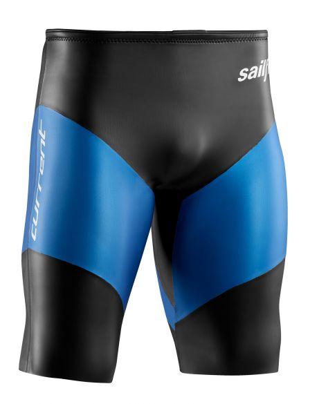 Sailfish Neopreen short current medium zwart/blauw  SL1932