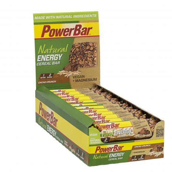 Powerbar Natural energy bar cacao crunch 24 x 40 gram  3235