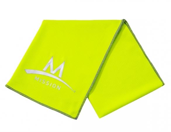 Mission Enduracool Tech Knit Towel High Vis green  840006