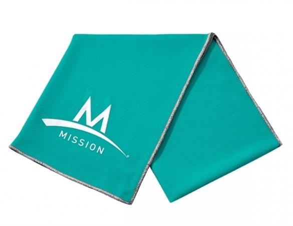 Mission Enduracool Tech Knit Towel mint sport  840010
