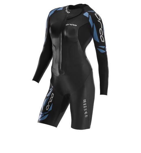 Orca core swimrun suit dames fluor groen