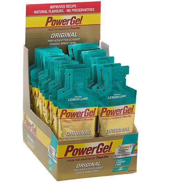 Powerbar Powergel original citroen limoen 24 x 41 gram  3242