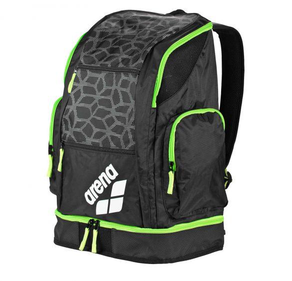 d882e80e11f Arena Spiky 2 large rugzak zwart/groen kopen? Bestel bij triathlon24.be