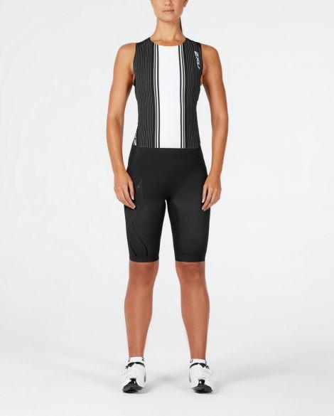 aaff67efa056ff 2XU Project X swim skin zwart/wit dames kopen? Bestel bij triathlon24.be