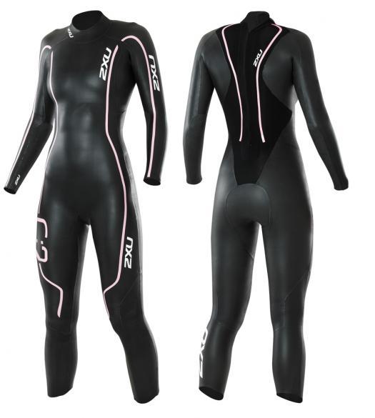 2XU C:2 comp dames wetsuit WW1584c zwart roze  WW1584c_blkpnk