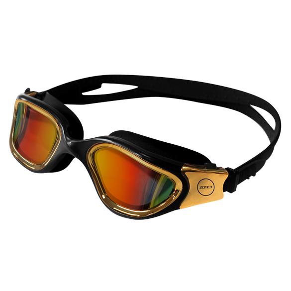 Zone3 Vapour Zwembril Zwart/Goud  SA18GOGVA112