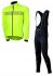 Agu Nova hivis fietsjack geel(fluo)/reflectie heren  441046