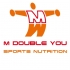 M Double You 100% Whey Protein 900 gram  2001