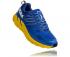 Hoka One One Clifton 6 wide hardloopschoenen blauw/geel heren  1102876-NBLM