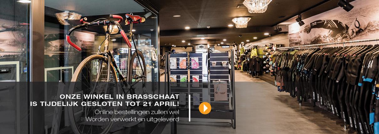 Winkel Brasschaat tijdelijk gesloten!